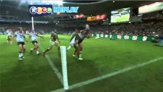 Rd1 Roosters v Rabbitohs (Hls)