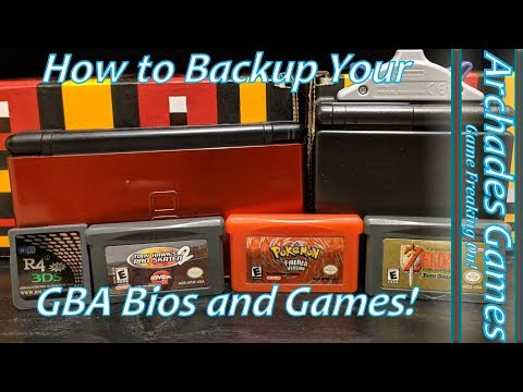 How To Easily Backup Your Gameboy Advance Bios And Games!