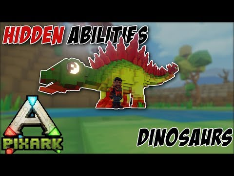 SECRET Abilities in PixARK (Tame Ability Spotlight) - PixARK How To