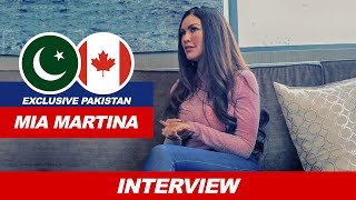 STEREO LOVE SINGER MIA MARTINA's FIRST PAKISTAN INTERVIEW | WORK IN BOLLYWOOD | COMING TO PAKISTAN