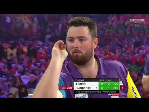 Jeff Smith vs Humphries.World Darts Championship. What a match!