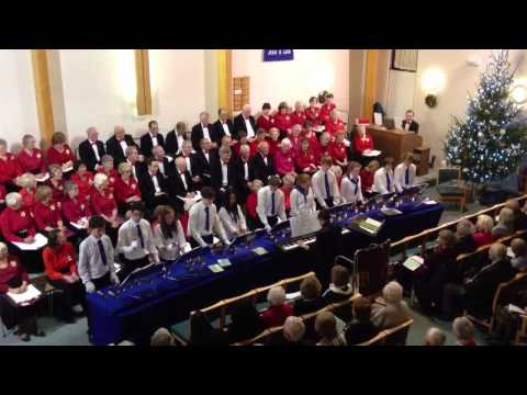 """Bournemouth Youth Handbell Team """"In The Mood"""""""
