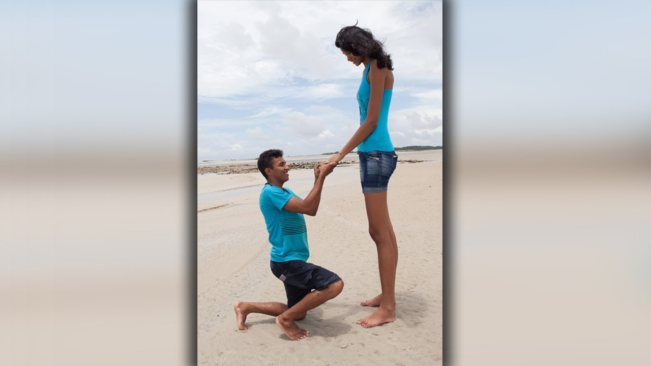 Tall Model To Marry Childhood Sweetheart