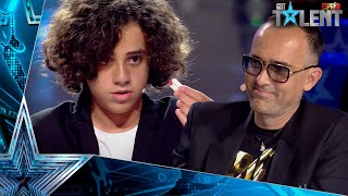 Wow! Risto is speechless with the magic of this child | Auditions 9 | Spain's Got Talent 2021