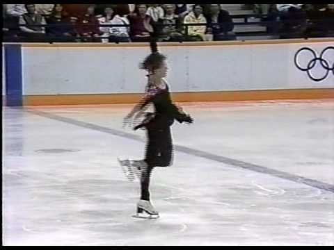 Kira Ivanova (URS) - 1988 Calgary, Ladies' Long Program