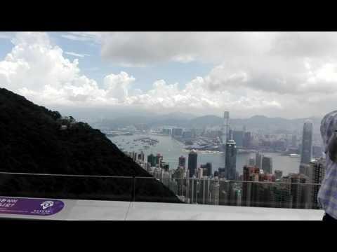Globe trotter@Peak, Hongkong