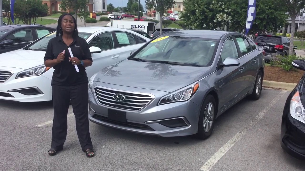 Amber's 2016 Sonata @ Tameron Hyundai in Hoover - YouTube