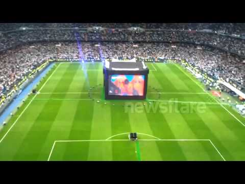 Celebrations after Champions League final equaliser