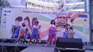 [120721] Zen Se7en :: Dschinghis Khan (ジンギスカン) @ Audition Berryz Koubou Back Up