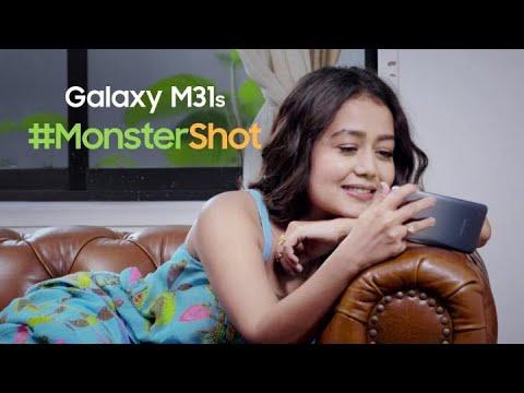samsung-galaxy-m31s-|-neha-kakkar's-#monstershot-verdict