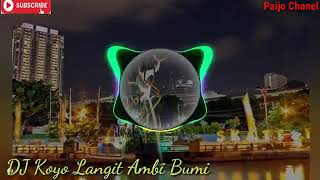 Download Mp3 Dj Remix_ || Koyo Langit Ambi Bumi ||