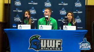 2015 UWF Winter Sports Media Day: Women's Swimming and Diving