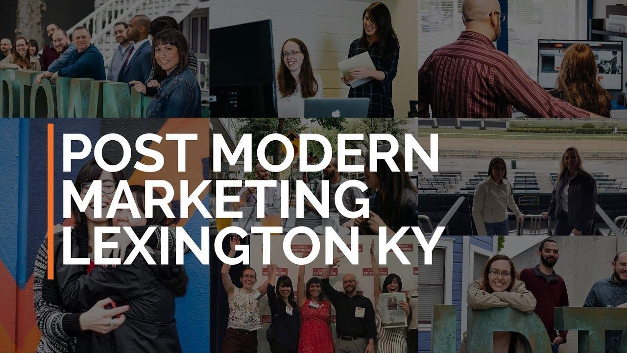 A Digital Marketing Agency in Lexington Kentucky - Post Modern Marketing