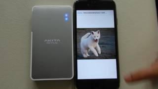 16GB Ultra Light and Portable Wireless Hard Drive