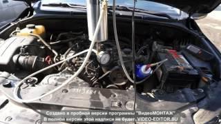SsangYong Actyon Sport полная чистка двигателя и топливной системы