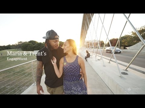 Maria & Trent's Engagement Video, Trent Shelton {Dallas Fort Worth Videographer}