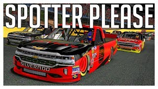 iRacing | Spotter Please Ep 6 | Charlotte Speedway | NASCAR iRacing Class C Fixed | Spotting Video