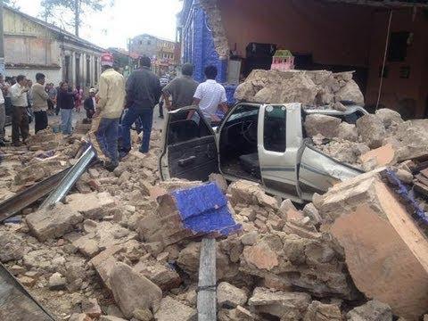 Destructive! 7.5 MEGA QUAKE Strike: GUATEMALA, felt in MEXICO, El Salvador 48 Dead 100 Msg 11.7.12