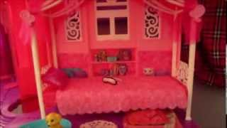 NEW Barbie Dreamhouse Full House Tour by Baby Gizmo