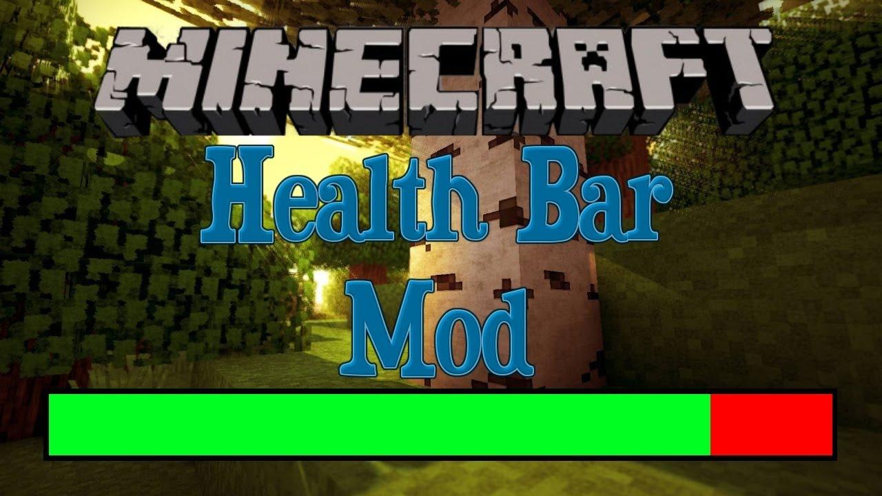 Minecraft 1 4 5 Mod The Health Bar Mod by Vazkii YouTube