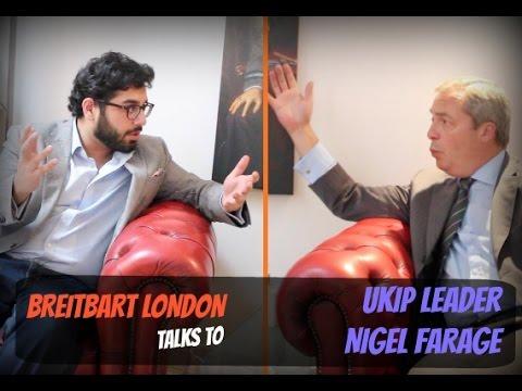 Nigel Farage on the EU Referendum and European Migrant Crisis