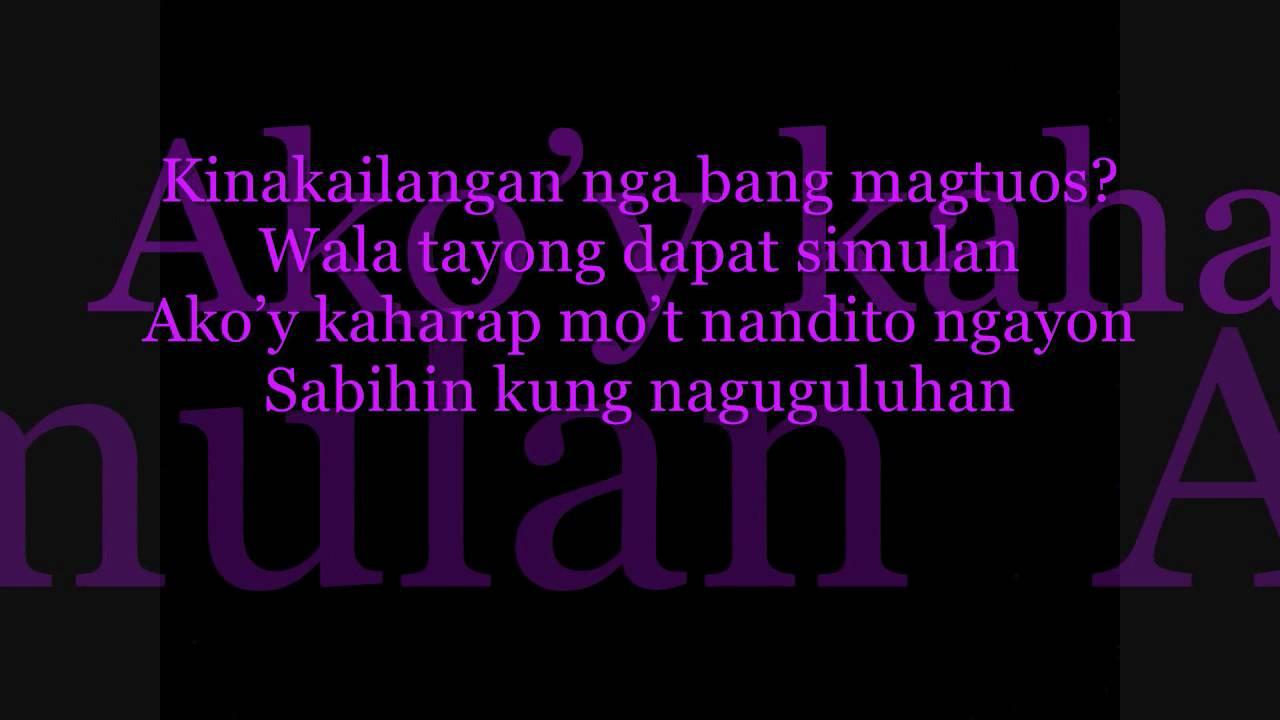 Spongecola - Sa Bingit Ng Isang Paalam Lyrics | MetroLyrics