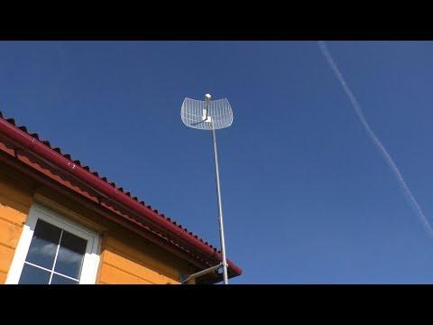 Теле2 LTE интернет + видеонаблюдение в деревне