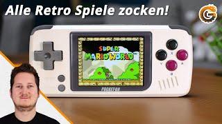 PocketGo: Die besten Retro Spiele in einer Konsole!