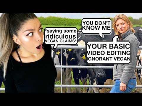 EXTREME VEGAN GETS OWNED BY DAiRY FARMER