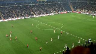 FENERBAHÇE Manchester United ile dalga geçiyor :) (Tribün Çekim FHD) [FB 2-1 Man.U 03.11.16]