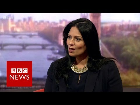 Priti Patel: Government is focused on delivering Brexit - BBC News