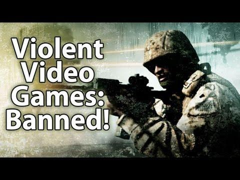 Violent Video Games -- BANNED!