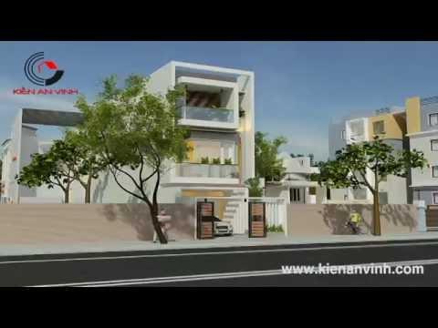 Bản vẽ mẫu thiết kế nhà 2 tầng hiện đại đẹp chị Trang Q.Thủ Đức