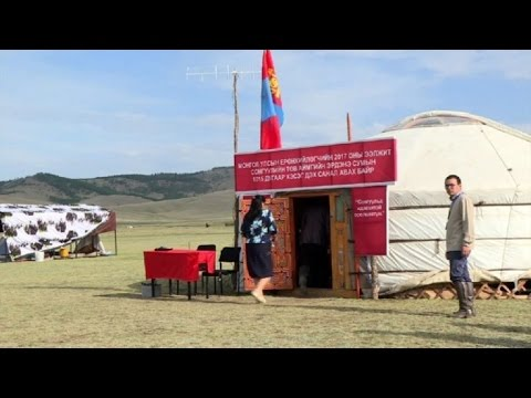 Mongolians pick president after scandal-plagued campaign