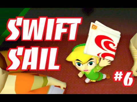 How To Get The Swift Sail in WIND WAKER HD: Gameplay Walkthrough Part 6