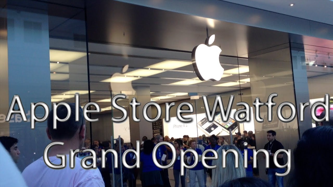 The Harlequin, Watford (UK) Apple Store Grand Opening