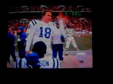 Peyton Manning and Marvin Harrison wired