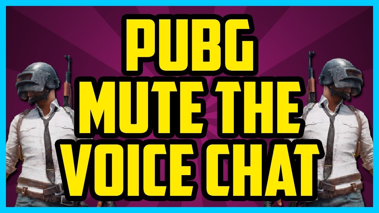 Pubg How To Mute All In Playerunknown Battlegrounds  Easy Mute Voice Chat Mute All Players