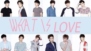 EXO - What Is Love (EASY Lyrics)