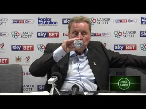 Harry Redknapp saves Birmingham City - post match press conference