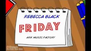 rebecca black friday goanimate