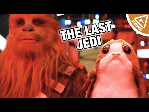 Could Star Wars The Last Jedi's True Heroes Be the Porgs? (Nerdist News w/ Jessica Chobot)
