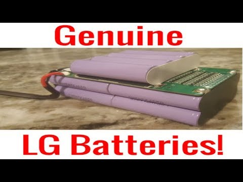 NEW LG 36V Ebay BATTERY PACK 18650 Thorough Review (Great Value) For Ebike Vape Harvest Powerwall