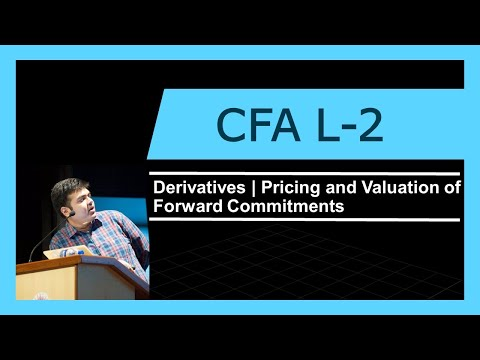 CFA Level 2 | Derivatives | Pricing and Valuation of Forward Commitments
