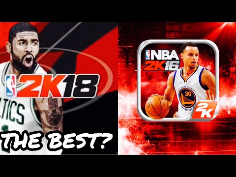 Ranking The Top 5 NBA 2K MOBILE Games (2K15-2K19)