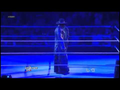 The Undertaker Return's WWE 2012