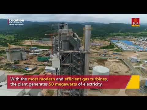 BUA Cement Factory by Drone in 4k
