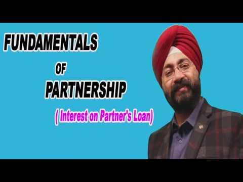 Fundamentals of Partnership | Interest on Loan