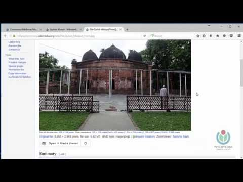 How to upload images for Wiki loves monuments Bangladesh 2016