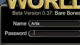 I FOUND ARTIX PASSWORD ON AQ WORLDS!!!!!!!!!!! thumbnail